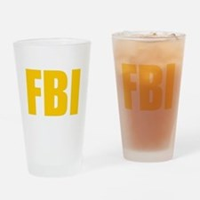 FBI Drinking Glass