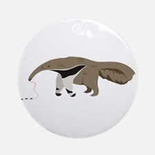 Anteater Ants Round Ornament