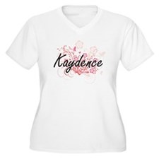 Kaydence Artistic Name Design wi Plus Size T-Shirt