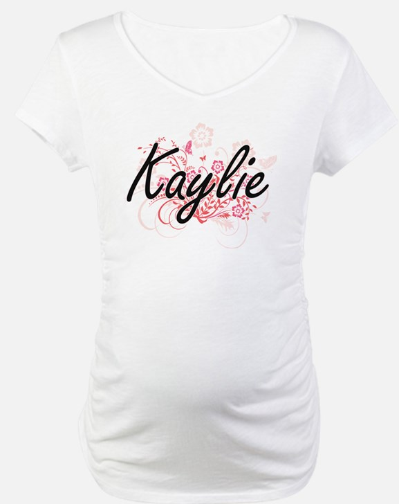 Kaylie Artistic Name Design with Shirt