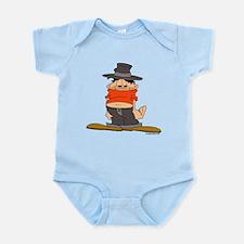 ongher in his top Infant Bodysuit