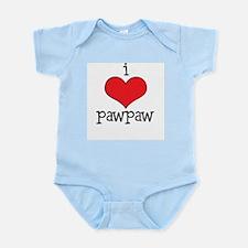 Cute Kids funny love Infant Bodysuit