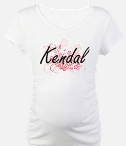Kendal Artistic Name Design with Shirt