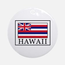 Hawaii Round Ornament