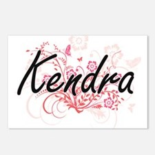 Kendra Artistic Name Desi Postcards (Package of 8)