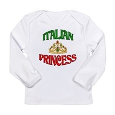 Cute Nonna and nonno Long Sleeve Infant T-Shirt