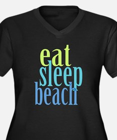 Beach Plus Size T-Shirt