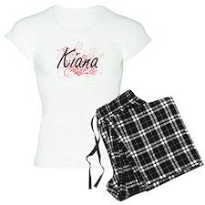 Kiana Artistic Name Design Pajamas