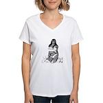 PANAMA.GIRL Women's V-Neck T-Shirt