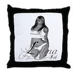 PANAMA.GIRL Throw Pillow