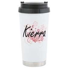 Kierra Artistic Name De Travel Mug