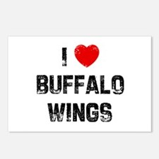 I * Buffalo Wings Postcards (Package of 8)