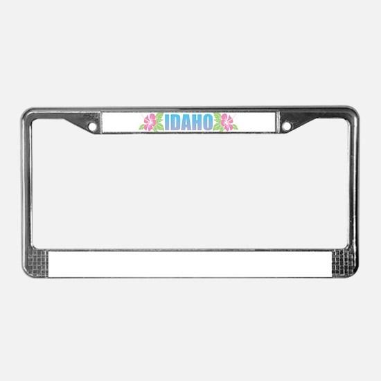 Idaho Design License Plate Frame