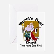 Worlds Best Dad Greeting Cards
