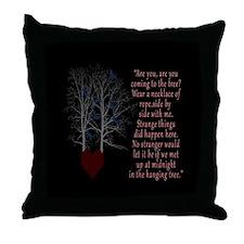 Hunger Games Hanging Tree Throw Pillow