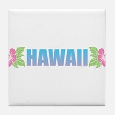 Cute Honolulu hawaii Tile Coaster