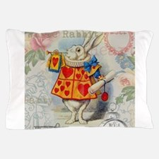 Funny Alice%27s adventures wonderland Pillow Case