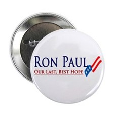 Ron Paul: Our Last, Best Hope Button