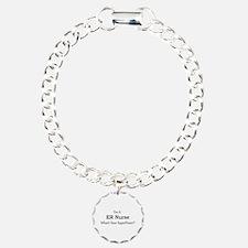 ER Nurse Charm Bracelet, One Charm
