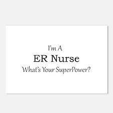 ER Nurse Postcards (Package of 8)