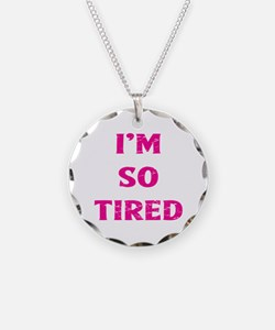 Cute Tired Necklace