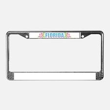 Florida Design License Plate Frame