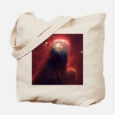Funny Hubble space telescope Tote Bag