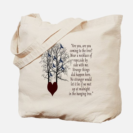 Hunger Games Hanging Tree Tote Bag