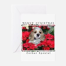 Cute Cocker spaniel Greeting Cards (Pk of 20)