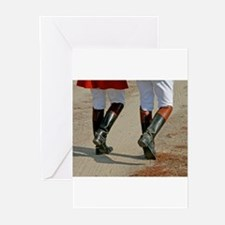 Unique Riding boots Greeting Cards (Pk of 10)