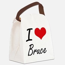 Cool Bruce Canvas Lunch Bag