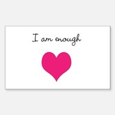 I am enough Decal