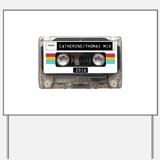 Mixtape CUSTOM label and year Yard Sign
