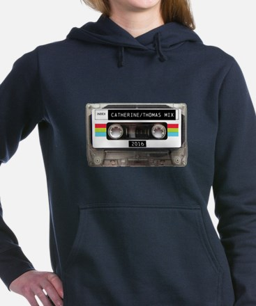 Mixtape CUSTOM label and year Women's Hooded Sweat
