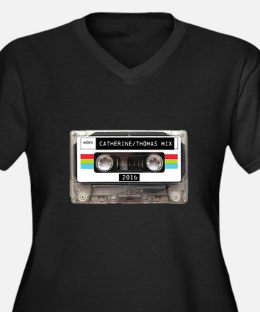Mixtape CUSTOM label and year Plus Size T-Shirt