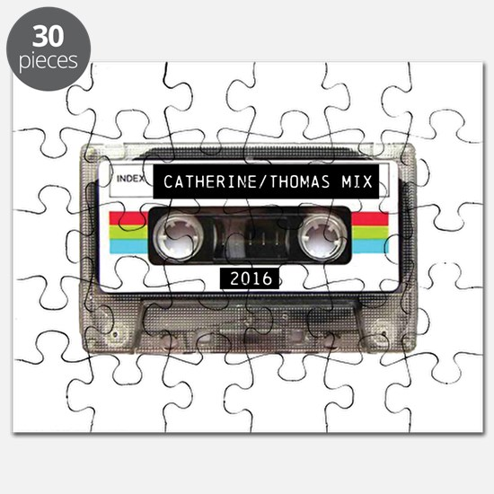 Mixtape CUSTOM label and year Puzzle