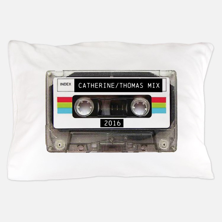 Mixtape CUSTOM label and year Pillow Case