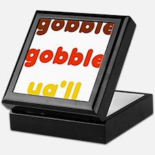 Gobble Ya'll Keepsake Box