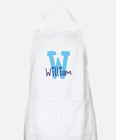 Monogram and Initial Apron