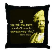 Cute True wisdom Throw Pillow