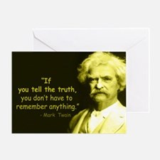 Funny The truth Greeting Card