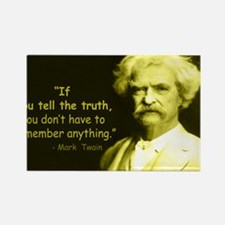 Cute Mark twain quotes Rectangle Magnet