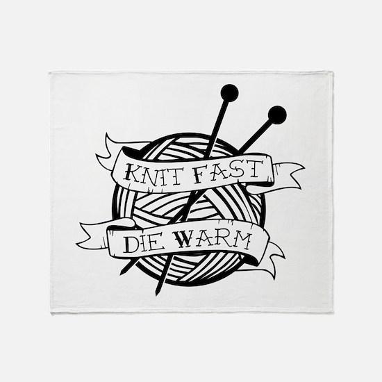 Cute Knit Throw Blanket