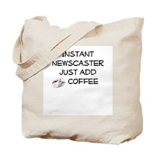 Newscaster Tote Bag