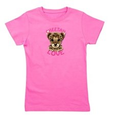 Funny Cheetah Girl's Tee