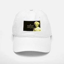 Mark Twain Tell the Truth Baseball Baseball Cap