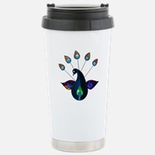 Smoky Peacock Stainless Steel Travel Mug