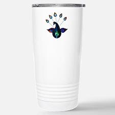 Smoky Peacock Travel Mug