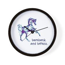 Bareback Wall Clock