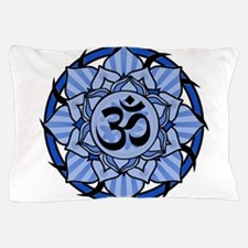 aum-blue.png Pillow Case